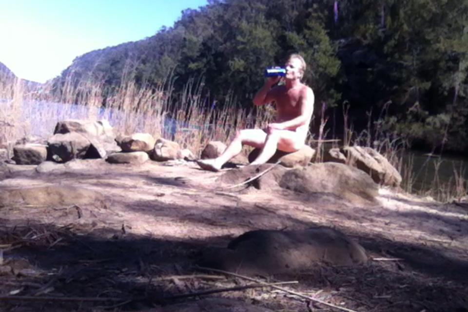 My nude outdoor adventures - skinny dipping & free hiking (1/2)
