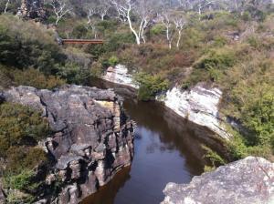 Clarence dam