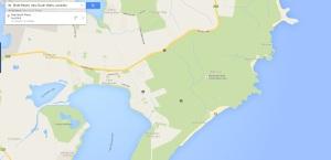 Birdie Beach map